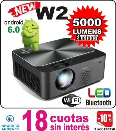 w2 mini proyector fot pag